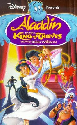 Aladdin and the King of Thieves VHS