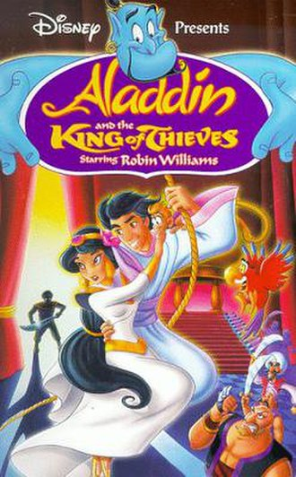 Aladdin and the King of Thieves - North American VHS cover