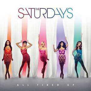 All Fired Up (The Saturdays song) - Image: All Fired Up artwork 2 600x 599