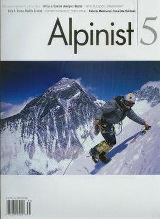 Alpinist (magazine) - Image: Alpinist 5Cover