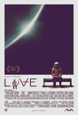 Love (2011 film) - Image: Angels & Airwaves Love film poster