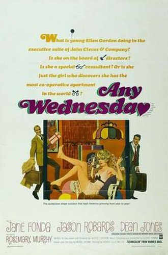 Any Wednesday - Film poster by Robert McGinnis