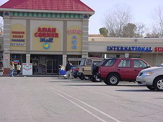 Asian supermarket - Asian Corner Mall in Charlotte, North Carolina