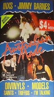 <i>Australian Made: The Movie</i> 1987 film by Richard Lowenstein