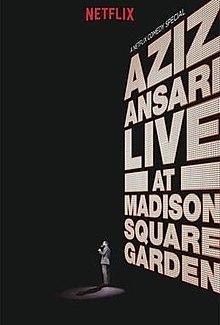 Aziz ansari live at madison square garden dating