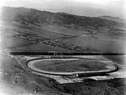 The track that would become the Beverly Hills Speedway, 1912