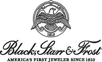 Black, Starr & Frost - Image: BSF Logo Black