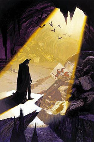 Batcave - Image: Batman Shadow of the Bat 79