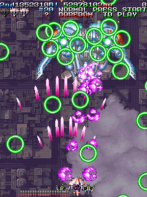 Armed Police Batrider - Gameplay screenshot