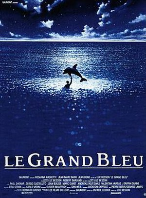 The Big Blue - Theatrical poster
