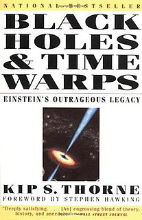 <i>Black Holes and Time Warps</i> popular science book by Kip Thorne