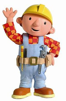 Bob The Builder Titular Character In His Design Used For