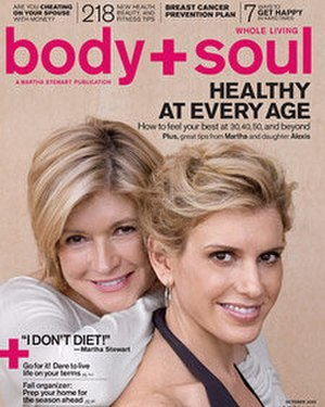 Whole Living - Image: Body+Soul cover