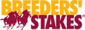 Breeders' Stakes - Image: Breeders Stakes Logo