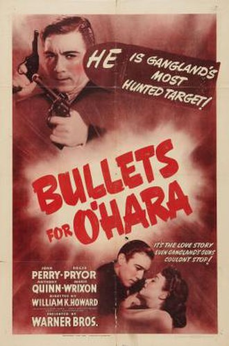 Bullets for O'Hara - Theatrical release poster