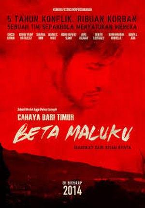 Cahaya Dari Timur: Beta Maluku - Poster film