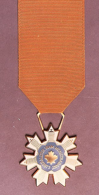 Canada's Aviation Hall of Fame - Official medal of Canada's Aviation Hall of Fame