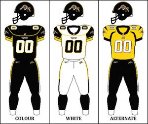 2006 Hamilton Tiger-Cats season - Image: CFL HAM Jersey 2006