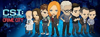 <i>CSI: Crime City</i> 2010 crime solving video game