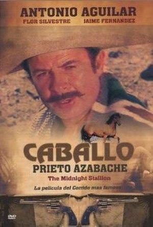 Caballo prieto azabache (film) - DVD release cover