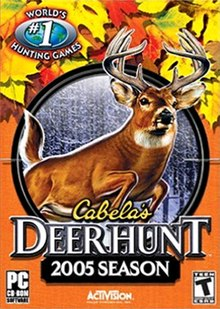 Cabela's Deer Hunt 2005 Season Coverart.jpg