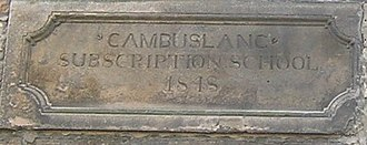 Cambuslang - Cambuslang Subscription School 1848, now a Gospel Hall