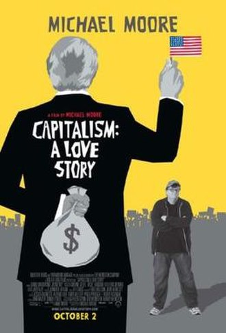 Capitalism: A Love Story - Theatrical release poster