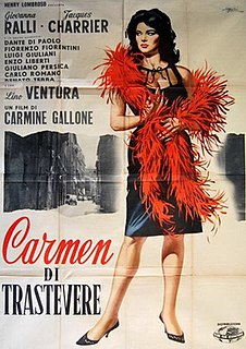 <i>Carmen di Trastevere</i> 1963 film by Carmine Gallone