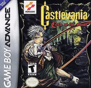 Castlevania: Circle of the Moon - North American box art