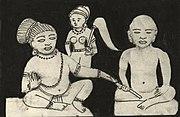10th century Kannada writers Chavundaraya and Nemichandra who excelled in Jain literature, © Kamat's Potpourri