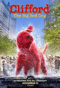 <i>Clifford the Big Red Dog</i> (film) Upcoming American animated fantasy comedy film by Walt Becker