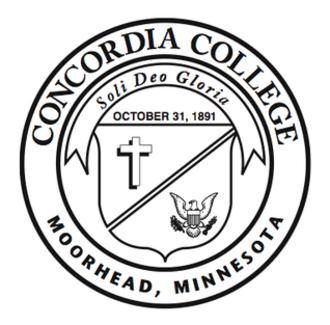 Concordia College (Moorhead, Minnesota) - Image: Concordia College, Minnesota (emblem)