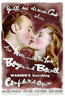 <i>Confidential Agent</i> 1945 film by Herman Shumlin