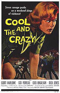 <i>The Cool and the Crazy</i> 1958 film