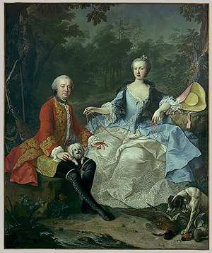 Giacomo Durazzo - Count and Countess Durazzo, painted by Martin van Meytens the Younger