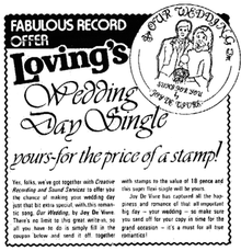 Magazine record ad