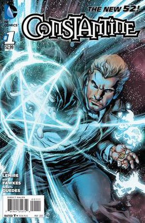Constantine (comic book) - Image: DC Comics' Constantine No. 1 cover
