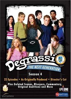<i>Degrassi: The Next Generation</i> (season 4) season of television series