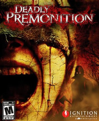 Deadly Premonition - North American cover art