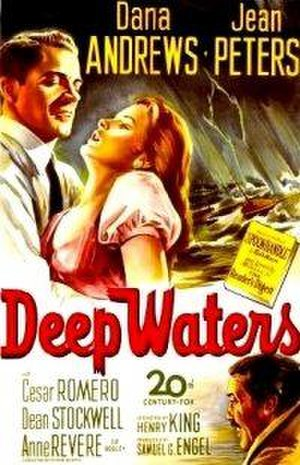 Deep Waters (1948 film) - Theatrical release poster