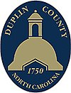 Official seal of Duplin County