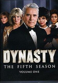 <i>Dynasty</i> (1981 TV series, season 5) Season of television series
