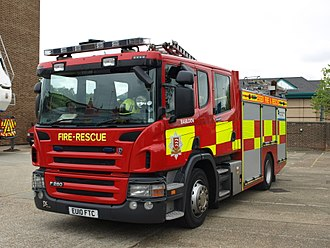 Essex County Fire and Rescue Service - Rescue Pump (RP)