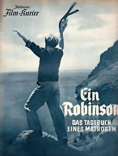 <i>A German Robinson Crusoe</i> 1940 film