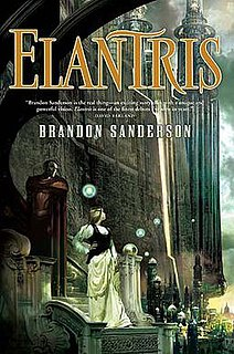 <i>Elantris</i> novel by Brandon Sanderson
