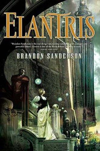 Elantris - Cover of Elantris