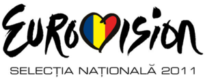 Romania in the Eurovision Song Contest 2011 - Logo of this year's selection