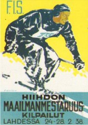 FIS Nordic World Ski Championships 1938 - Image: FIS Nordic WSC 1938 poster