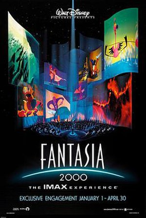 Fantasia 2000 - IMAX theatrical release poster