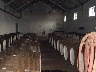 Glenglassaugh distillery - Image: Filling Store Small